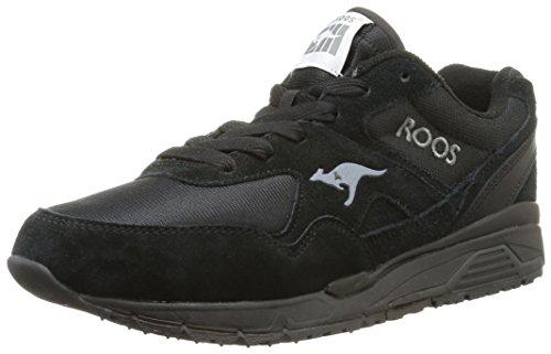 KangaROOS Runaway Roos 002, Herren Sneakers Schwarz (black 500)