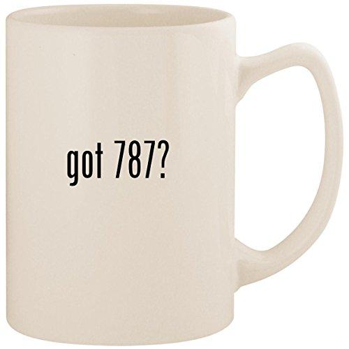 (got 787? - White 14oz Ceramic Statesman Coffee Mug Cup)