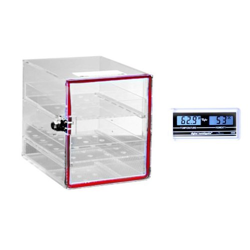 Dynalon 143115-0001 Large Acrylic Desiccator Cabinet with...