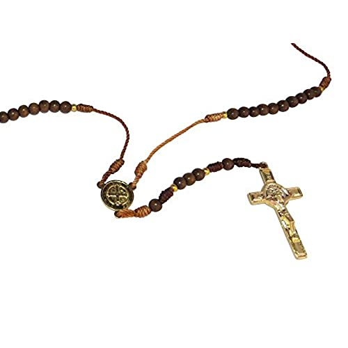 Saint Benedict Rosary for Protection Rosario San Benito De Hilo Café
