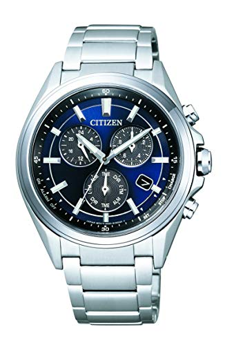 Citizen Mens Chronograph Solar Powered Watch with Titanium Strap BL5530-57L