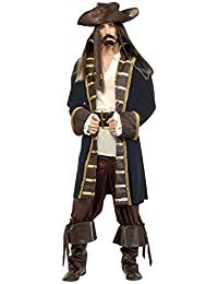 Forum Designer Deluxe High Seas Pirate Costume