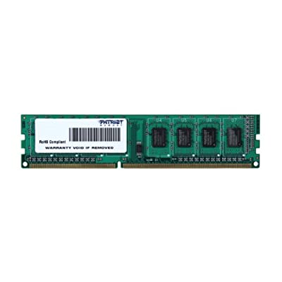 Patriot Signature 4GB DDR3 PC3-12800 (1600MHz) CL11 DIMM Memory Module PSD34G160081 from Patriot