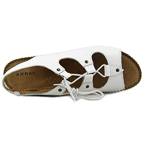 Array Wendy Womens Sandalo Bianco