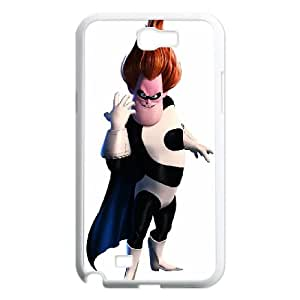 Incredibles Samsung Galaxy N2 7100 Cell Phone Case White WS0237538