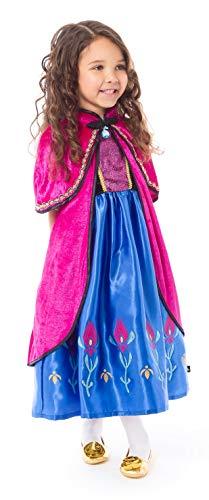 Little Adventures Scandinavian Princess Dressup Costume Cloak (S/M Age 1-5) - http://coolthings.us