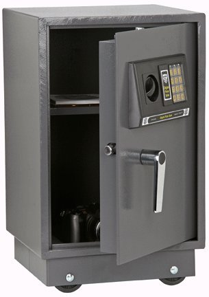 1.51 Cu. Ft. Solid Steel Digital Floor Gun Safe by Bunker Hill