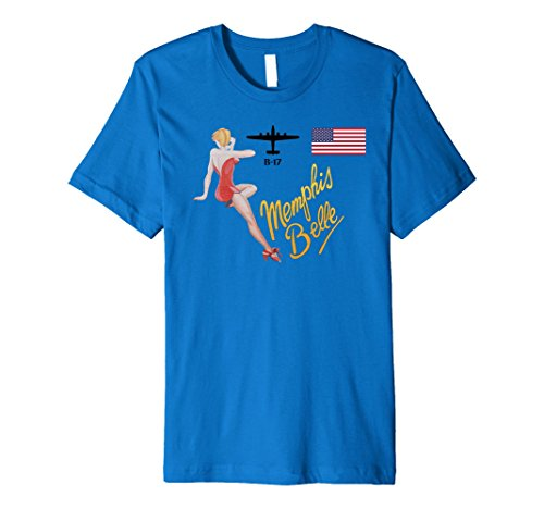 Nose Art Tee (Memphis Belle American Military Aircraft Nose Art)
