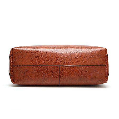 Package Capacity Women Large Single Large Handbag Brown And Fashion Bag X8FqCwxq7