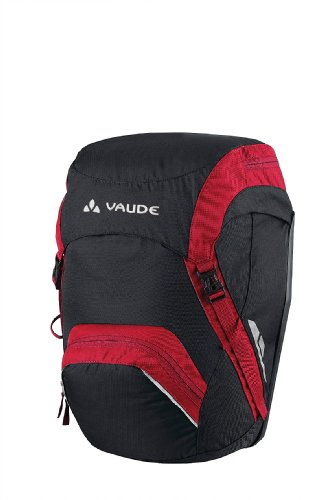 (Vaude Road Master Front Cycling Panniers (pair) Red)
