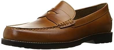 Rockport Men's Classic Move Penny Cognac Leather 7 M (D)