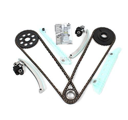 Timing Chain Kit Compatible w/Ford 4.6L 281ci E150 F150 F250 Explorer Expediton 1997-2007 Windsor