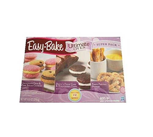 Hasbro Easy Bake Ultimate Oven Super 12 Pack Refill Mix (Easy Oven compare prices)