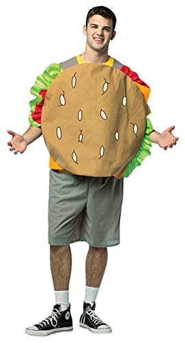 Rasta Imposta Men's Bob's Burgers Gene Outfit Funny Theme Party Halloween Fancy Costume, -