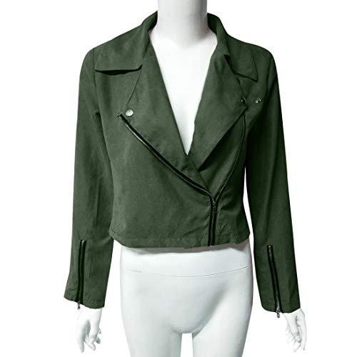 Donna Verde Bzline vêtements vêtements Bzline Giacca xwR0qInRTW