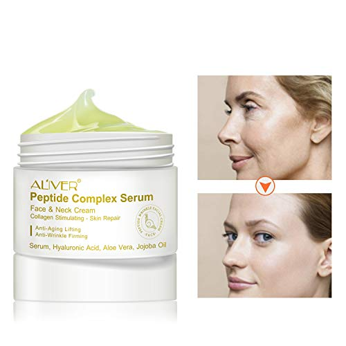 Advanced Tightening Moisturizer Cream, ALIVER Revitalift Extra Firming Cream for Face Contours, Neck Re-Support & Décolleté - Anti-Aging, Wrinkles, Moisturizing Reduces Signs Of Ageing (30 g)