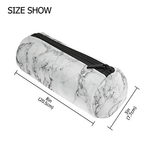 3aae32da4a18 KUWT Pencil Bag Marble Abstract Pattern, Pencil Case Pen Zipper Bag ...