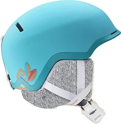 SALOMON(サロモン)SHIVA C.AIR レディース スキー スノーボードヘルメット オールマウンテン L37771300 Scuba青 Small