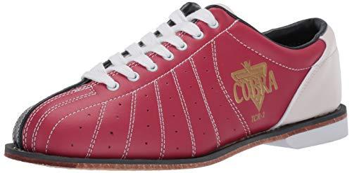 Mens TCR1L Cobra Rental Bowling Shoes- LacesRed/Blue 6 1/2 ()