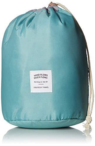 Waterproof Travel Bag Makeup bag Cosmetic Bag Travel Kit Organizer Bathroom Storage Cosmetic Bag Carry Case Toiletry Bag Multifunctional bucket toiletry bag Green