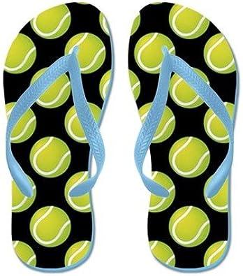 Lplpol Tennis Balls Flip Flops for Kids