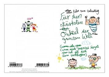 65676 Nici Kinderkunst Klappkarten 37 Geburtstag Fur Den