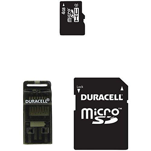 Dane Elec Camera Memory Cards (Dane-Elec 4 GB Class 4 Microsd Card (DA-3IN1-04G-R))