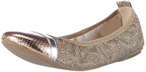 Tamaris 22111, Women's Closed Ballerinas Silber (Plat.glam Comb 918)