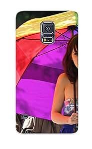 Hot VHIkYkt1619HNjxT Women Zooey Deschanel Umbrellas Tpu Case Cover Series Compatible With Galaxy S5
