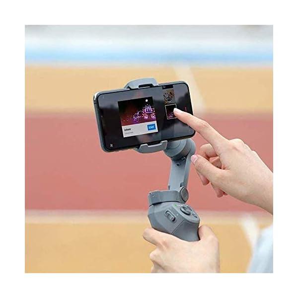 DJI Osmo Mobile 3 Prime Combo - Kit Stabilizzatore Gimbal a 3 Assi con Care Refresh, Compatibile con iPhone e Android Smartphone, Design Portatile, Scatto Stabile, Controllo Intelligente con Treppiede 4 spesavip