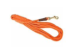 Mendota Products Pro-Trainer 30 Check Cord Dog Lead, Orange, 1/2-Inch x 30-Feet