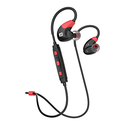MEE audio X7 Stereo Bluetooth Wireless Sports In-Ear Headphones (Red/Black)