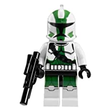 Lego Star Wars Clone Commander Gree Minifigure