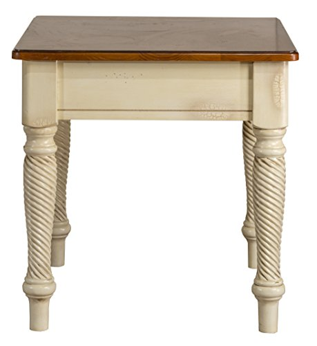 Hillsdale Furniture 4508-882 Wilshire End Table, Antique White