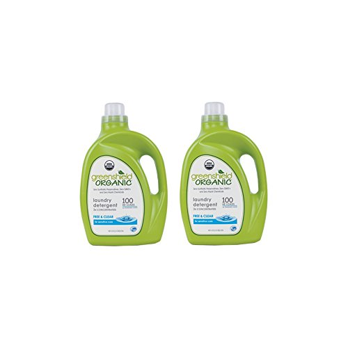 - USDA Certified Free and Clear Laundry Detergent - 100 oz. (2 PACK) ()