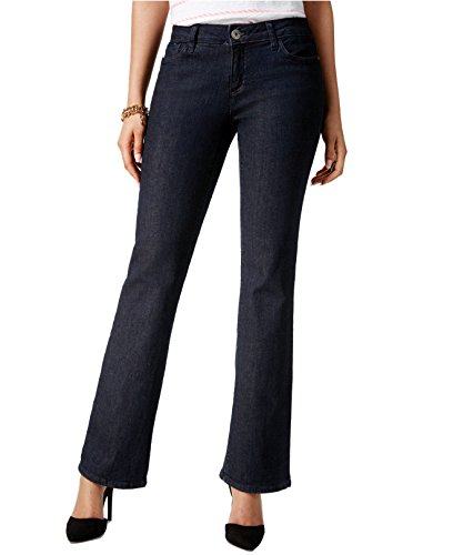 Leg Rinse (Tommy Hilfiger Women's Classic Bootcut Leg Jeans (6S, New True Rinse))