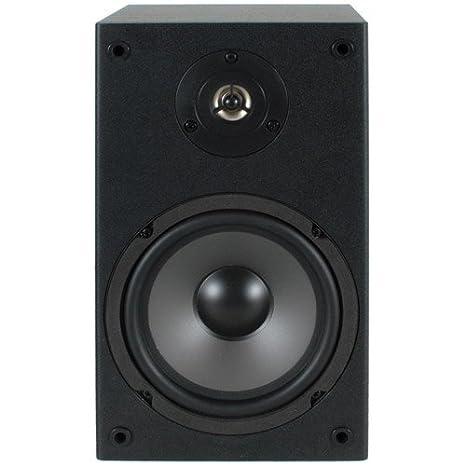 Dayton Audio B652 40W Negro altavoz - Altavoces (De 2 vías, 2.0 canales, Alámbrico, 40 W, 70-20000 Hz, Negro): Amazon.es: Electrónica