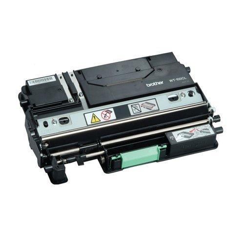 OEM Brother WT-100CL Waste Toner Box for HL-4040CN, MFC-9840CW (Toner Wt100cl Brother Waste)