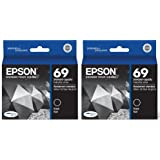 Epson 69 Black Twin Pack Ink Cartridges