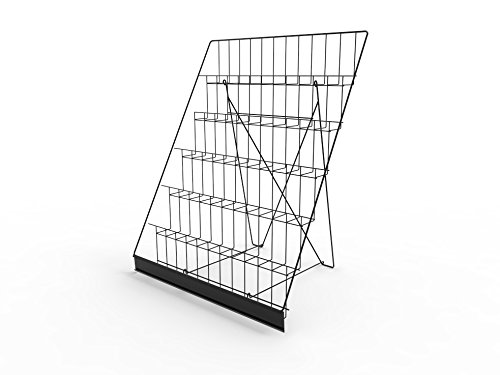Fixture Displays 6-Tiered Wire Display Rack for Tabletops...