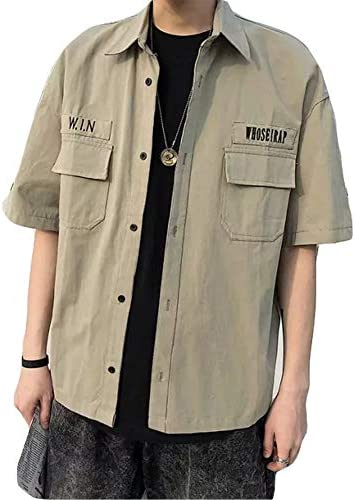 チーアン Tiann メンズ ジャケット コーチジャケット 開襟シャツ オープンカラーシャツ テーラードジャケット トレンド カジュアル トップス