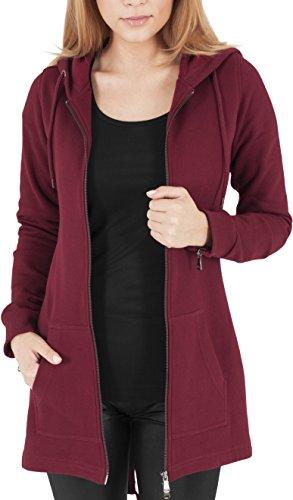 Multicolore Donna Sweat Urban giacca Classics Jacke burgundy Parka TwPcYU4q
