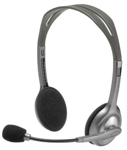 (Logitech Stereo Headset H110 (981-000214) (Certified Refurbished))