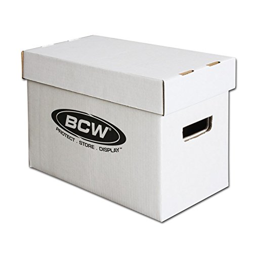 20 Ct. BCW CGC Graded Current Silver Golden Comic Book Storage Box
