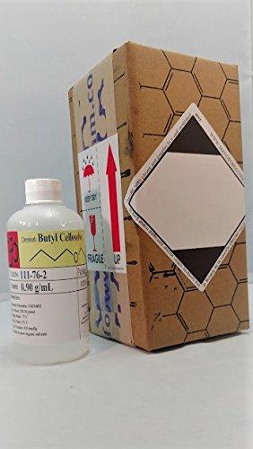 Butyl cellosolve, 8oz (~ 250 ml) HDPE botella: Amazon.es: Amazon.es