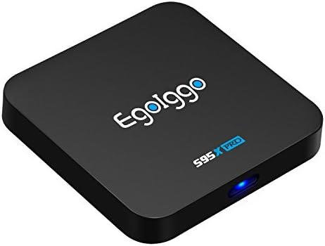 EgoIggo S95X Pro Android TV Box Android 6.0 2GB RAM + 16GB ROM 2.4G WiFi 4K 2K H.265 por Hardware HDMI Smart TV Box: Amazon.es: Electrónica