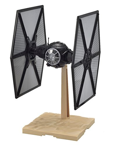Bandai Hobby Plastic Model First Order Tie Fighter Star Wars: The Force Awakens Kit (1/72 Scale) (Star Wars Fighter Pods Toys R Us)