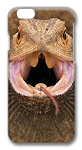 Big Face Bearded Dragon Custom Case For Iphone 6 Plus (5.5 Inch) Cover Polycarbonate 3D