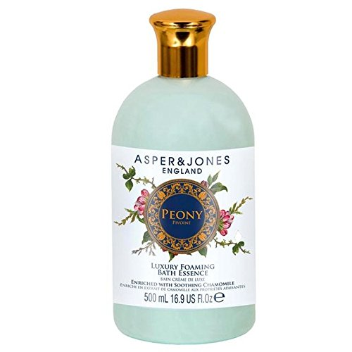 (Asper & Jones Peony Moisturising Bath Essence 500ml (PACK OF 4))