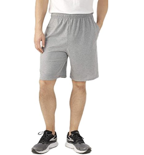 Fruit of the Loom Men's Knit Short, X-Large, Heather Grey